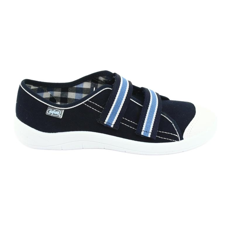 Befado children's shoes 672Y049 navy blue
