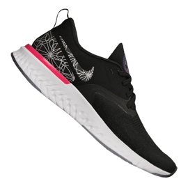 Nike Odyssey React 2 Flyknit Gpx M AT9975-002 shoes black