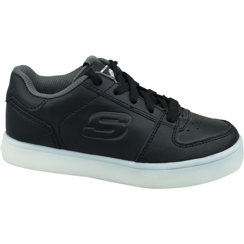 Skechers Energy Lights Jr 90601L-BLK shoes black
