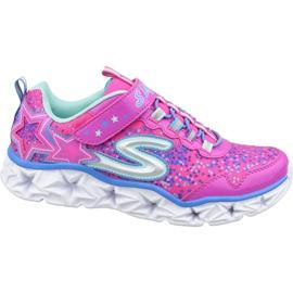 Skechers Galaxy Lights Jr 10920L-NPMT shoes pink