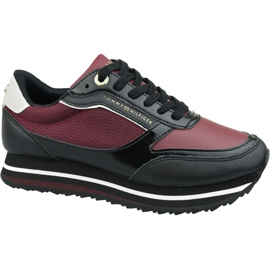 Tommy Hilfiger Tommy Retro Branded Sneaker W FW0FW04305 Gby red