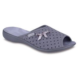 Befado women's shoes pu 254D047 grey