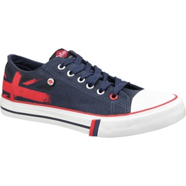 Lee Cooper Low Cut 1 W LCWL-19-530-033 navy