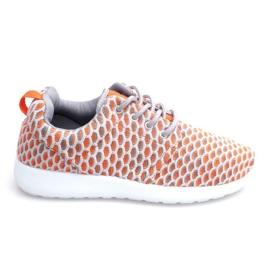Roshe KA537 Orange Sport Running Sneakers