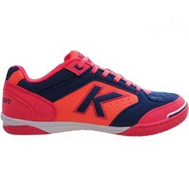 Kelme Precision Indoor 55211 9816 indoor shoes navy blue, pink multicolored