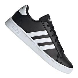 Adidas Grand Court Jr EF0102 shoes black