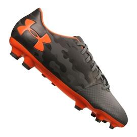 Under Armour Under Armor Spotlight Dl Fg M 1289534-101 football shoes grey gray, orange