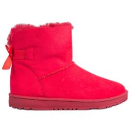 Haver Comfortable Mukluki red