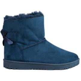 Haver Comfortable Mukluki blue