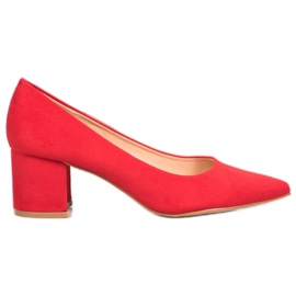 SDS Casual Red Pumps
