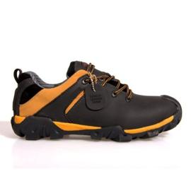 Trekking Boots Leather NAT. 6254 Black