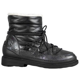 Vices Textile Snow Boots black