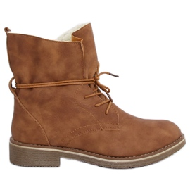 Camel boots 758-PA Camel brown