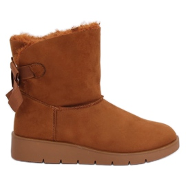 Women's snow boots camel A-3 Camel brown