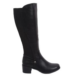 Black Black high heels CH1961 Black