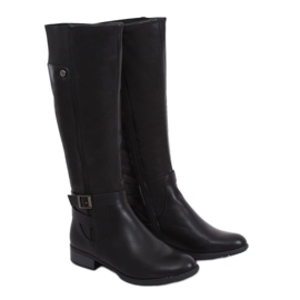 Black insulated boots SG-226 Black