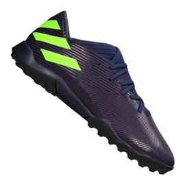 Adidas Nemeziz Messi 19.3 Tf M EF1809 shoes purple, green violet