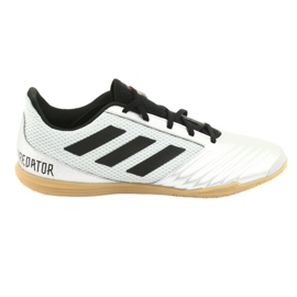 Indoor shoes adidas Predator 19.4 In M F35630 silver