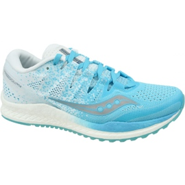 Saucony Freedom Iso 2 running shoes in S10440-36 blue
