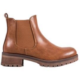 SDS Brown Jodhpur boots