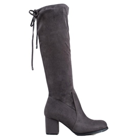 J. Star Classic Suede Boots grey