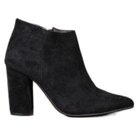 Marquiz Sexy Zipper Boots black