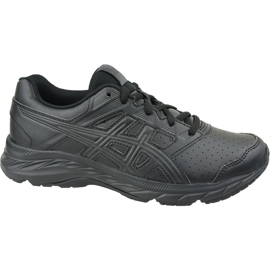 Asics Contend 5 Sl Gs Jr 1134A002-001 running shoes black