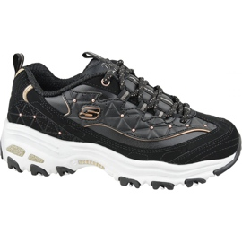 Skechers D'Lites W 13087-BKRG shoes black