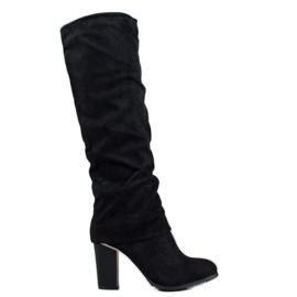 SDS Elegant high heels black