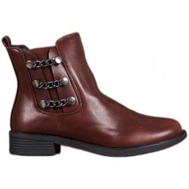 SHELOVET Elegant Jodhpur boots brown