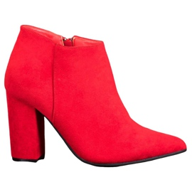 Marquiz Sexy Zipper Boots red