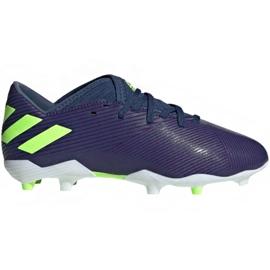 Adidas Nemeziz Messi 19.3 Fg Jr EF1814 football shoes violet