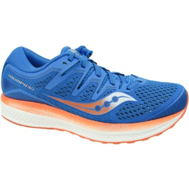 Saucony Triumph Iso 5 M S20462-36 running shoes blue