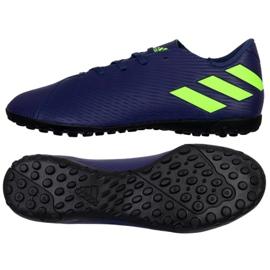 Adidas Nemeziz Messi 19.4 Tf M EF1805 shoes navy blue navy