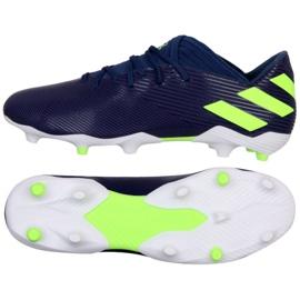 Adidas Nemeziz Messi 19.3 Fg M EF1806 shoes purple navy