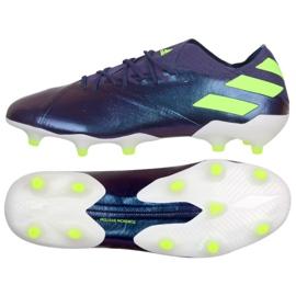 Adidas Nemeziz Messi 19.1 Fg M EG7332 shoes purple violet