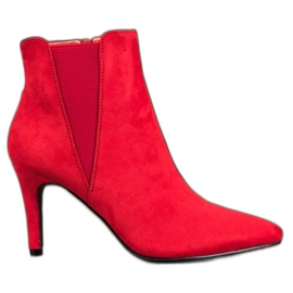 Marquiz Boots On A Stiletto red