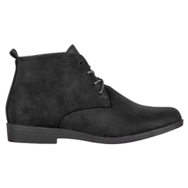 Goodin Comfortable Suede Boots black