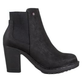 Goodin Slip On High Heels black