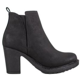 Goodin Textile Ankle Boots black