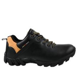 Black trekking shoes 2019A