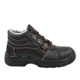 Black men's safety shoes XH009D
