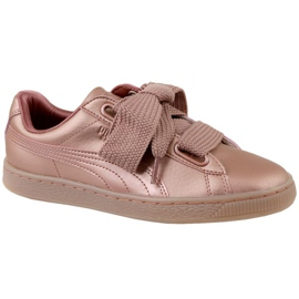 Puma Basket Heart Copper W 365463-01 shoes pink