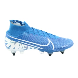 Nike Mercurial Superfly 7 Elite SG-Pro Ac M AT7894-414 football shoes blue
