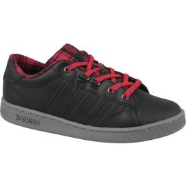 K-Swiss Hoke Plaid Jr 85111-050 shoes black