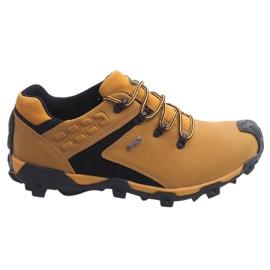 Trekking Boots Leather Nat HLD923 Camel