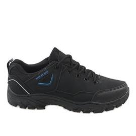 Black trekking shoes 128