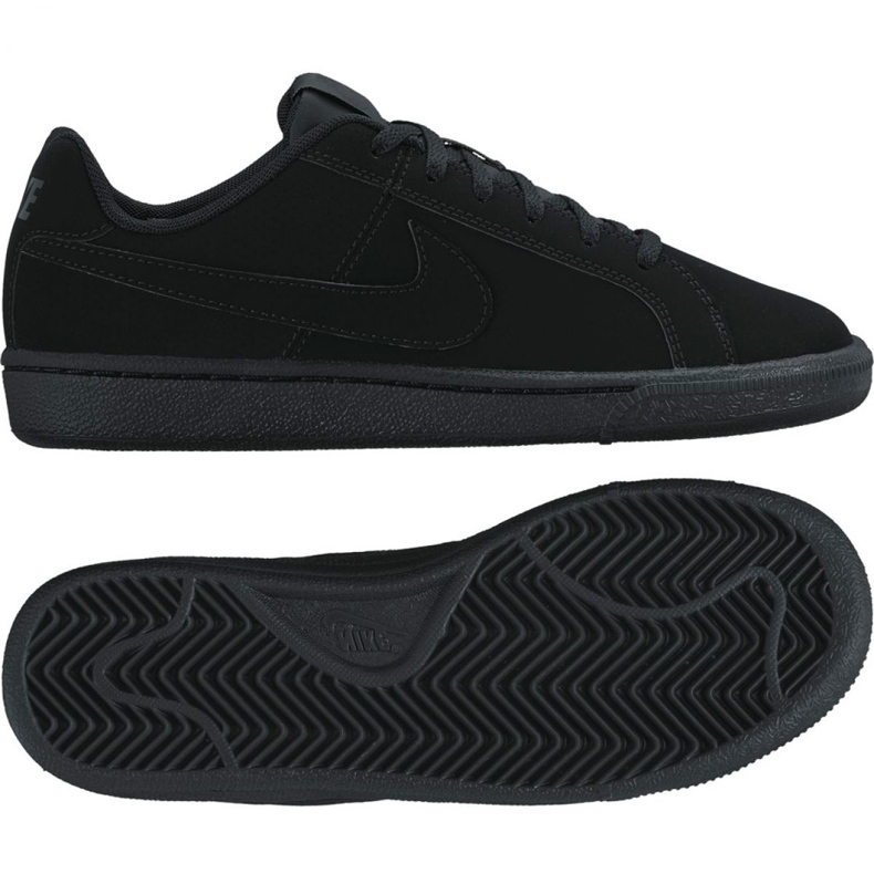 Nike Court Royale Gs Jr 833535-001 shoes black