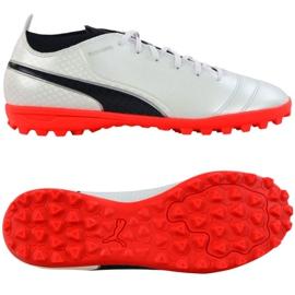 Puma One 17.4 Tt M 104078 01 football shoes white white