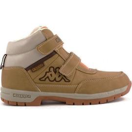 Kappa Bright Mid K Jr 260239K 4141 shoes brown